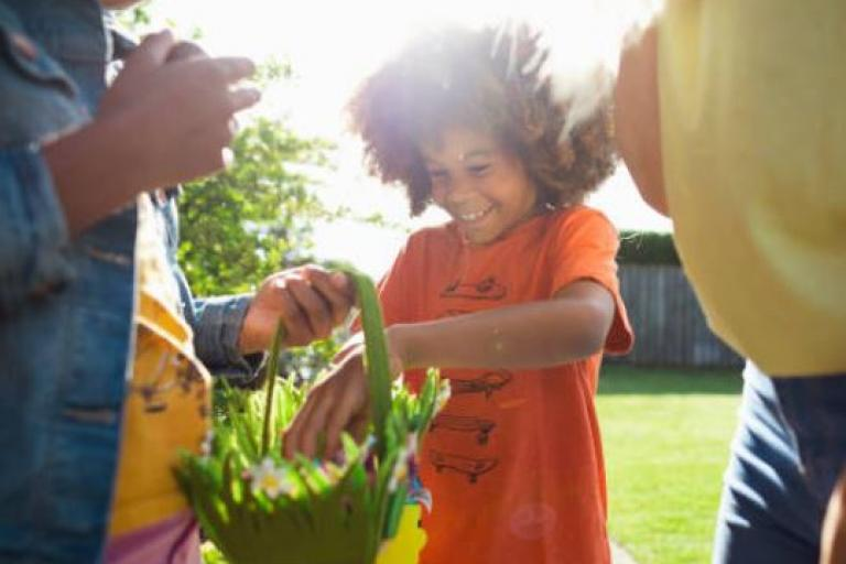 There are more than 20 hubs providing food and activities this Easter
